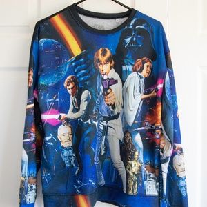 Mighty Fine Women's Sweater Star Wars XL